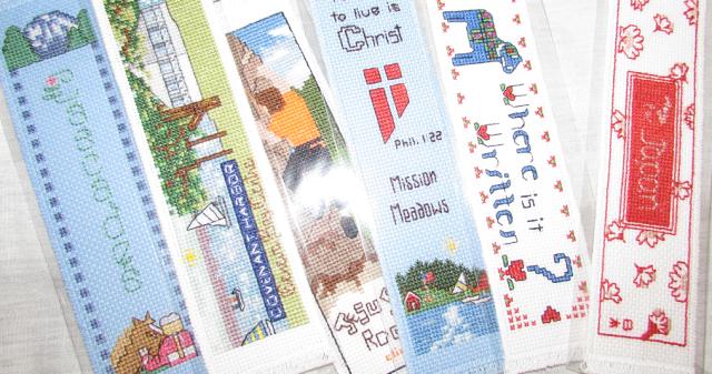 Sonja's Cross stitch Bookmarks