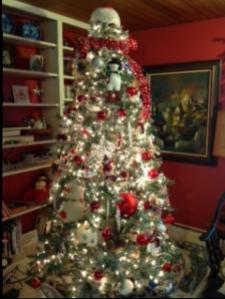 Snowman tree