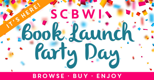 Book launch party banner